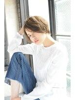ミンクス 青山店(MINX)欅坂 平手友梨奈風ナチュラルニュアンスショート