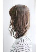 シュシュット(chouchoute)小顔セミウェットウェーブハイライトカラー美髪オリーブカラー12