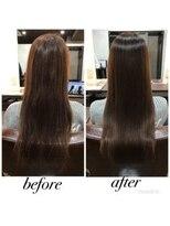 セブン ヘア ワークス(Seven Hair Works)ストレートエステ