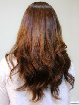 プライム primeの写真/【カラーバリエーション豊富】髪に優しい薬剤ご用意♪おしゃれ染めのようなデザイン性の高いスタイルに◎