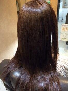 ルレリンク(Le RelinQue)の写真/≪感動の美髪ストレート≫髪質改善クリスタルストレートとリピート率90%のクセストパー。艶髪で透明感UP☆