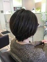 クール ヘアー ギャラリー 神明町店(COOL Hair gallery)美シルエットショートボブ☆