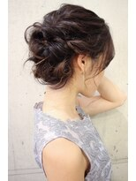 【西葛西&-hair流】結婚式柔らかギブソンタック