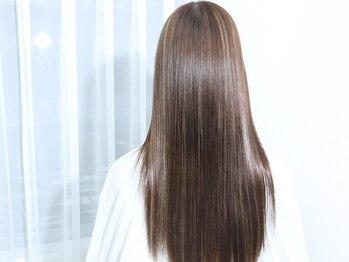 シアン バイ アルテフィーチェ(CYAN by artefice)の写真/【梅田/ノンダメージサロン公認】リアルな質感を求める方から圧倒的支持。自分を素敵に魅せる鍵は綺麗な髪-