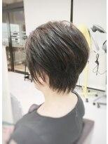 クール ヘアー ギャラリー 神明町店(COOL Hair gallery)うしろスッキリ美シルエットショート