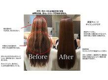 髪質改善で叶う☆後ろ姿も美しいという選択☆美髪チャージ・サイエンスアクア