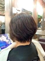 ムード 金沢文庫 hairdesign&clinic mu;d【山崎直樹】 ショートスタイル