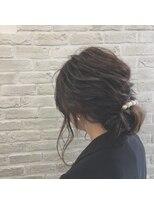 クレーデヘアーズ 相田店(Crede hair's)#二次会アレンジ