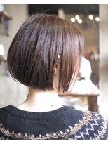 ノエル ヘアー アトリエ(Noele hair atelier)Noele×ツヤ感ショートボブ