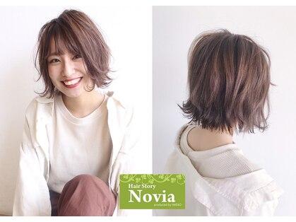 ヘアーストーリー ノビア(Hair Story Novia)の写真