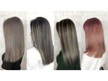 アース 甲府昭和店(HAIR&MAKE EARTH)の雰囲気(髪質改善や弱酸性縮毛矯正でハイトーンさえもサラツヤ♪)
