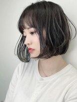 マックスビューティーギンザ(MAXBEAUTY GINZA) セミウェットゆらぎボブ☆銀座/髪質改善