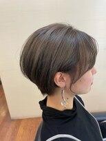 カット ルーム パパス(Cut Room PAPA' S)ダブルカラーで透明感のあるモテショートヘア♪