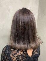 サロンドミルク 原宿(salon de MiLK)ナチュラルハイトーングレー 髪質改善