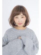 クロード モネ 新宿店(Claude MONET)フェミニン☆キュートボブ