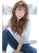 アリーズヘアー 青山(allys hair)潤カワくびれミディ☆甘辛フェミニンナチュラル女子