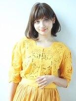 クィーンズガーデンバイケーツーギンザ(QUEEN'S GARDEN by K two GINZA)[K-two銀座]ワンカールで可愛い!エアリーボブ