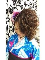 ヘアーアンドメイクサロン ハナココ(hair&make salon hana Coco)袴着付け盛髪