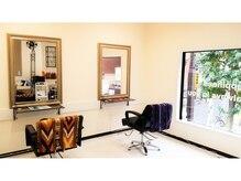 ヒーリングヘアーサロン コー(Healing Hair Salon Koo)の雰囲気(店内は2階建て構造で、プライベート空間を演出)