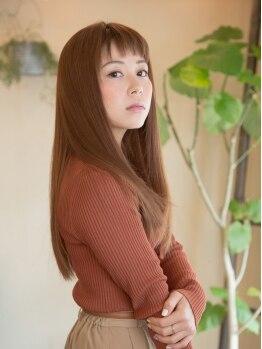 クロスオーバー(CROSS OVER)の写真/毛先まで艶めく感動の手ざわりへ☆業界でも高い人気を誇る「ハホニコ」「リンケージ」トリートメント有。