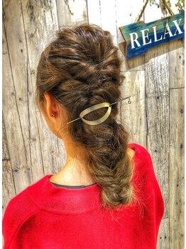 エターナルヘアー(eternal hair)の写真/【セットクーポンあり☆】結婚式・2次会・イベントなどの特別な日にはEterNalでワンランク上のヘアセット♪