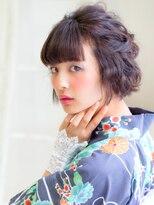 ガレット なんばウォーク(GALETTE)浴衣ショート☆モダンアレンジ:ヘアセット