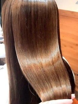 アピューズヘアー 西宮北口店(Apiuz Hair)の写真/【NEW OPEN】ヘアケアにも特化した本格派サロン!厳選されたカラー剤でツヤのある髪へと導いてくれる