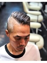 barber.oldstyle.men's pompadour.hommehair2nd櫻井
