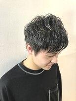 オーケークラブ アネックス(OKクラブ ANNEX)【 MIYU 】王道黒髪パーマ