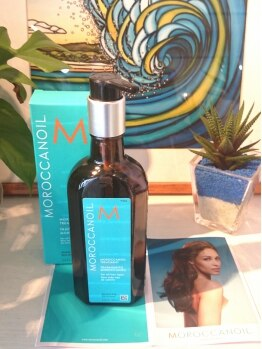 グリーンルーム 国分寺(green room)の写真/『モロッカンオイル』取扱いサロン♪艶&ハリのある美しい髪を目指しましょう‥☆