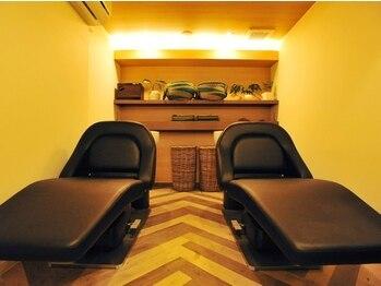 アトリエ 喜友名 (atelier)の写真/≪癒しのspaがあるプライベートサロン≫3席のみの落ち着いたプライベート空間で日々の疲れを癒しませんか。