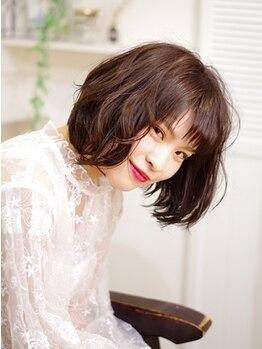 イチゴ ICH GO 武蔵新城店の写真/【イルミナカラー】【オーガニックハーブカラー】白髪をしっかりカバーし鮮やかな色味を楽しめる♪