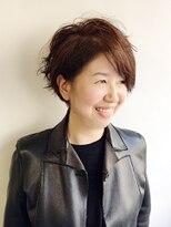 ラトリエコンタン(L´atelier Content)【L`atelier Content YUMI】ショートbob+パーマ