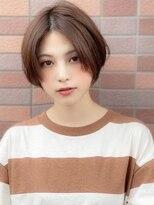アグ ヘアー リノ 大名店(Agu hair reno)《Agu hair》ひし形小顔王道ショート