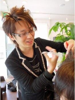 """ワンズヘアー(ONE's HAIR)の写真/ベテランスタイリストが必ず担当!健康な髪が叶える""""自然な可愛さ""""を何より大事にします☆"""