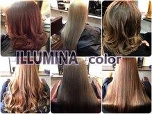 クレア ヘアーアザス 豊中店(CREA hair azass)の雰囲気(今業界で大注目ダメージレスで「光色」がテーマのイルミナカラー)