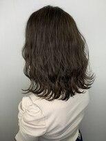ソース ヘア アトリエ 京橋(Source hair atelier)【SOURCE】カーキアッシュ