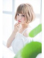 【miel hair blanc】ミルクティー☆ベージュ♪