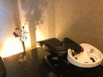 スティル(Steel)の写真/ 『個室空間×ベッドのようなシャンプー台×オージュア』18時まで受付!髪の毛&頭皮を贅沢Wケア♪