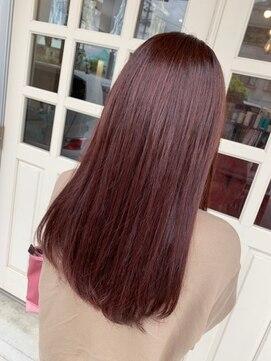 ヘアアンドメイクグラチア(HAIR and MAKE GRATIAE)ピンク☆ピンク☆