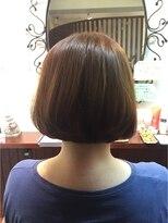 髪質改善ヘアエステ アリュール(allure)ゆるやか前下がりボブも髪質改善で!【新宿 髪質改善 allure】