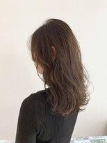 オリジン サロン(THE ORIGIN'S SALON)長めの前髪で小顔効果♪ふんわりヴェールグレージュ
