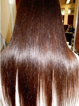 サマネアサマン 龍ヶ崎店(Samanea Saman)の写真/【SUBLIMIC毛髪シールド+カット¥7884】1人1人に最適なトリートメントをご提案☆今までにない上質な美髪へ…