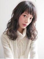ヘアー ピープル(Hair People)とろみ☆モテ髪無造作カール!黒髪耳かけ◎マーメイドアッシュ