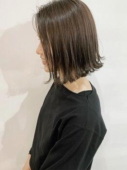 ヘアメイク ミッカ(HAIR MAKE MICCA)の写真/抜け感・外国人風に特化!青山/表参道/名古屋で活躍していたスタイリストによるトップレベルの技術は必見◎