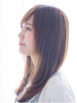ココヘアー(CoCo hair)の写真/ナチュラルな仕上がりに!【カット+縮毛矯正 ¥6200】生まれつきのストレートと間違えるほど自然な仕上がり