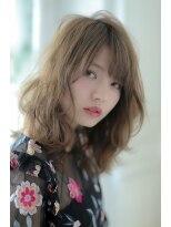 ジーナシンジュク(Zina SHINJYUKU)☆Zina☆クシャふわデジタルパーマ*バレイヤージュロブ*