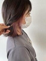 サラ ビューティー サイト 古賀店(SARA Beauty Sight)チェリーピンクインナーカラー