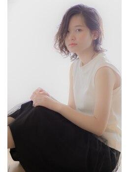 ゴエン ヘアーデザイン(goen hair design)の写真/『人とデザイン』がコンセプトの隠れ家的プライベートサロン☆細やかなデザイン力で再現性の高さ◎