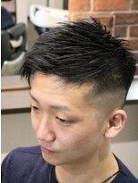 バーバー タイム オブ ディライト(Barber Time Of Delight)Short Fade